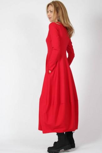 Rochie rosie lunga, comoda,...