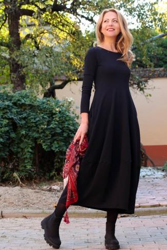 Rochie lalea neagra lunga,...