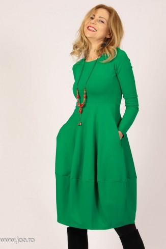 Rochie verde midi tip...